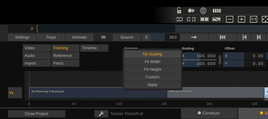 Learn Scratch - Set Scaling