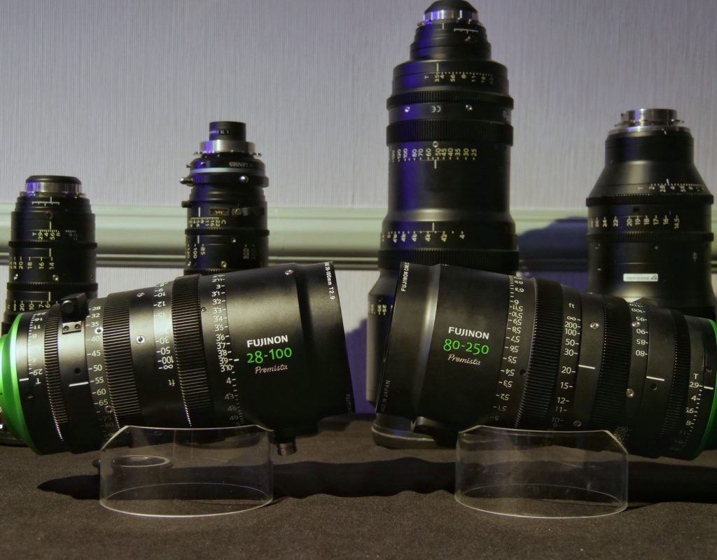 Premista 28-100mm zoom and 80-250mm mock-up