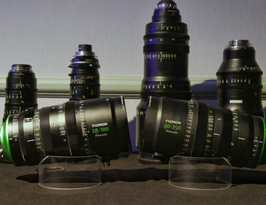 Premista 28-100mm zoom and 80-250mm mock-up