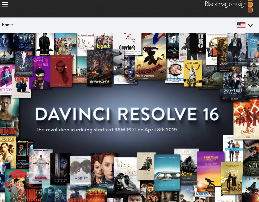 Stay tuned for DaVinci Resolve 16 5
