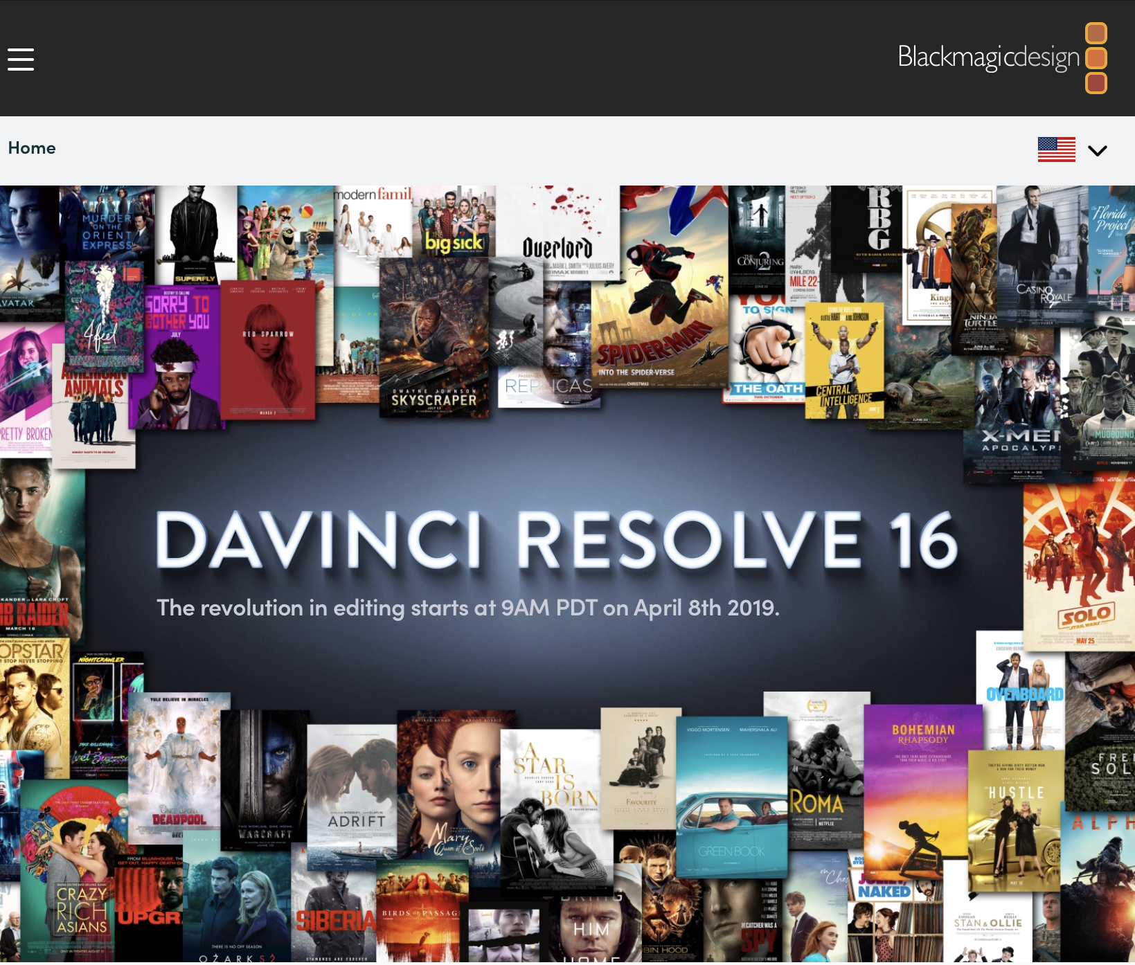 Stay tuned for DaVinci Resolve 16 7