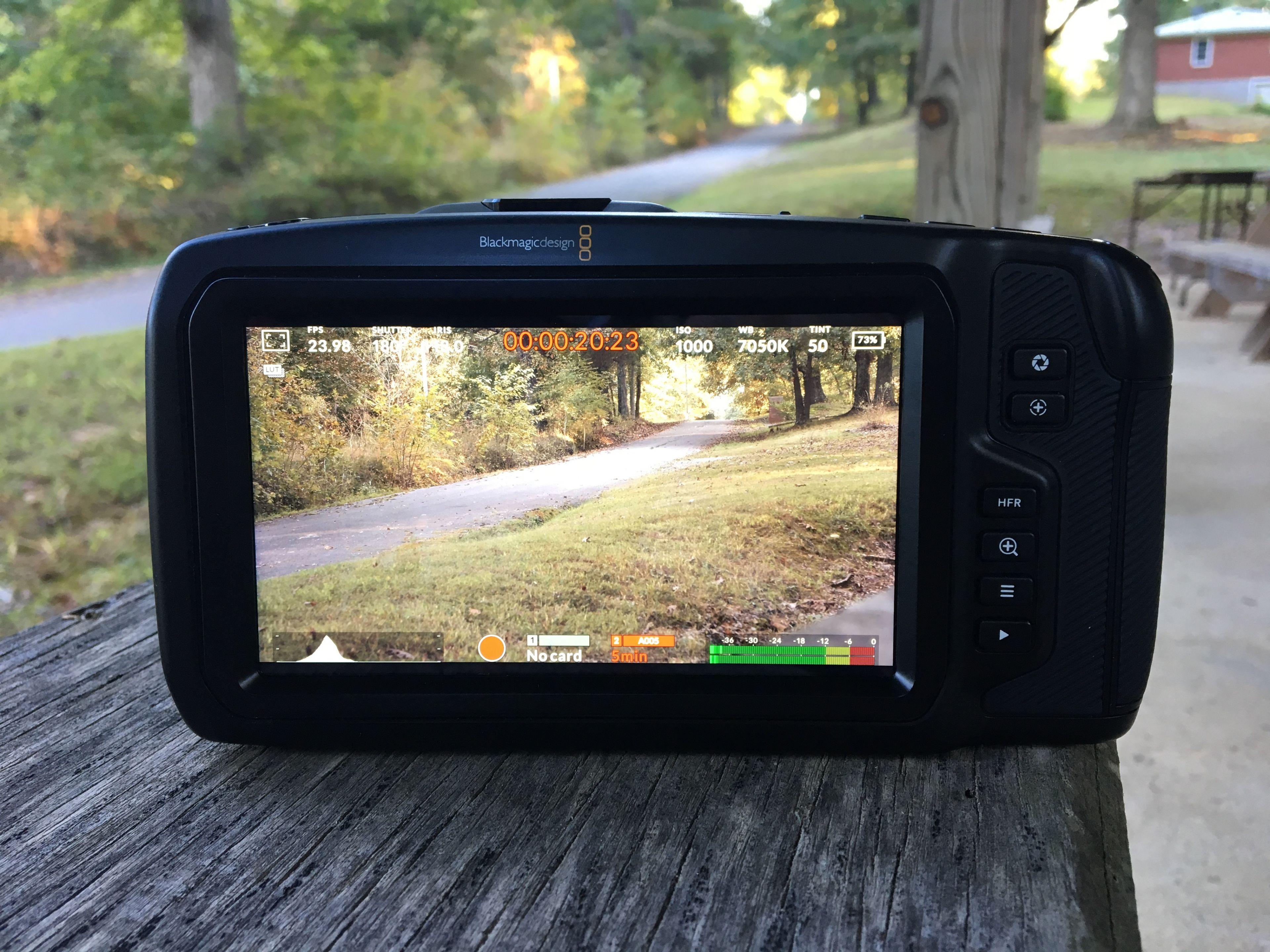Pocket Cinema Camera