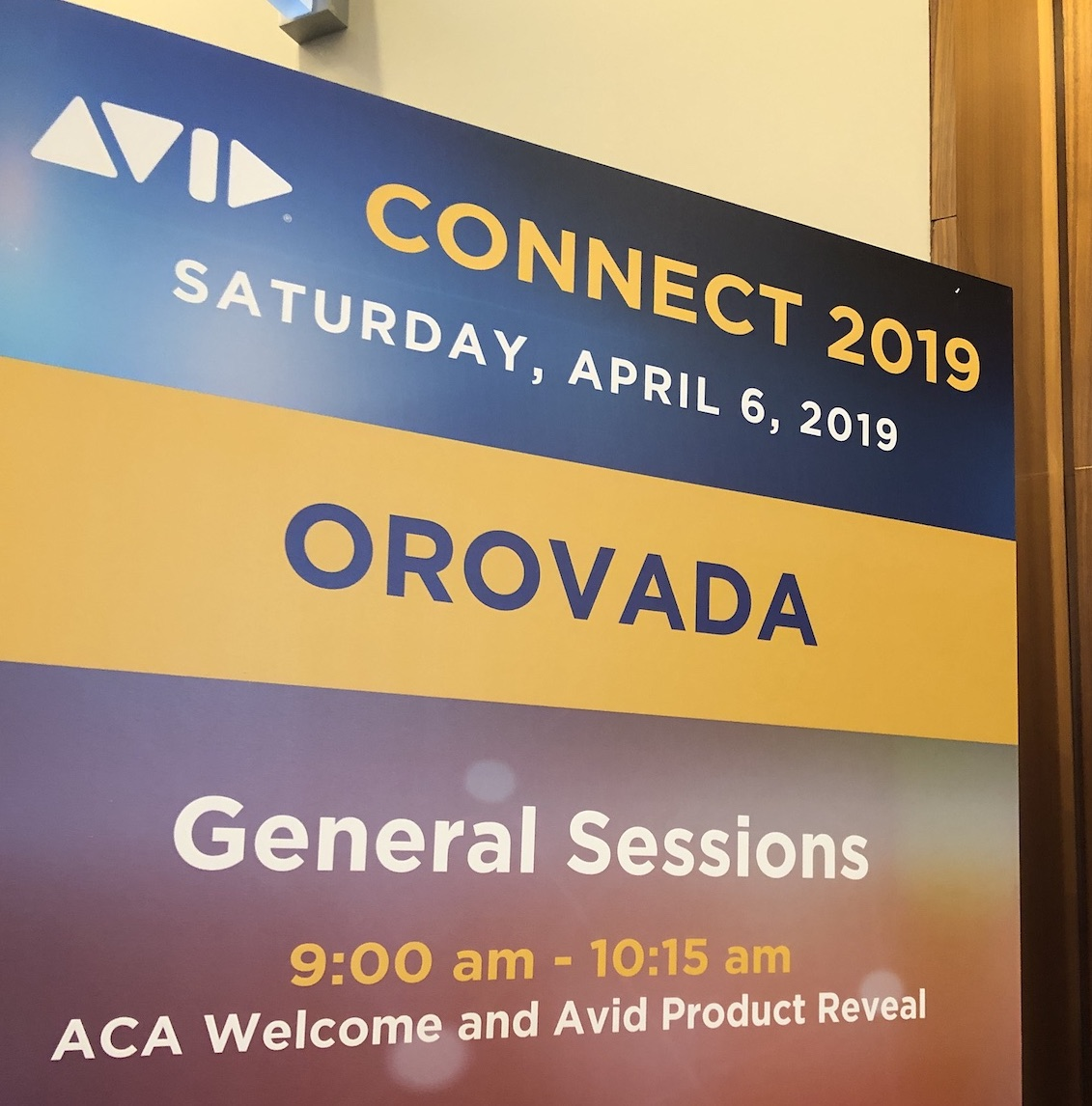 Avid Connect Press Conference and the Avid Product Reveal 2