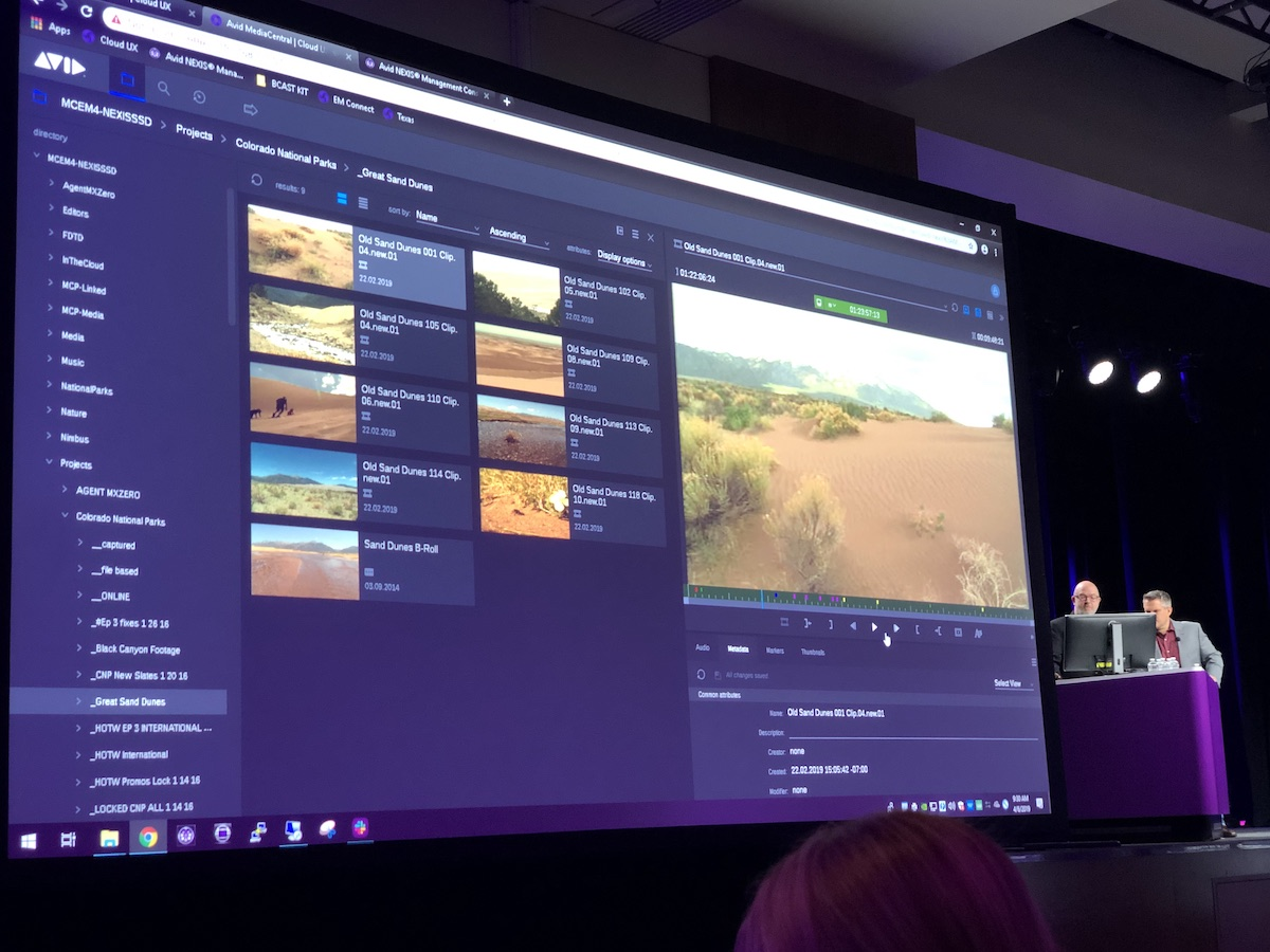 Avid Connect Press Conference and the Avid Product Reveal 4