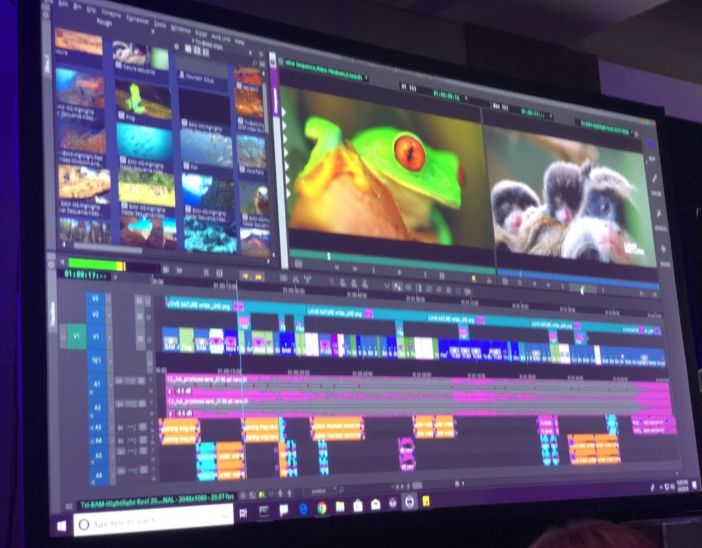 Avid Connect Press Conference and the Avid Product Reveal 1