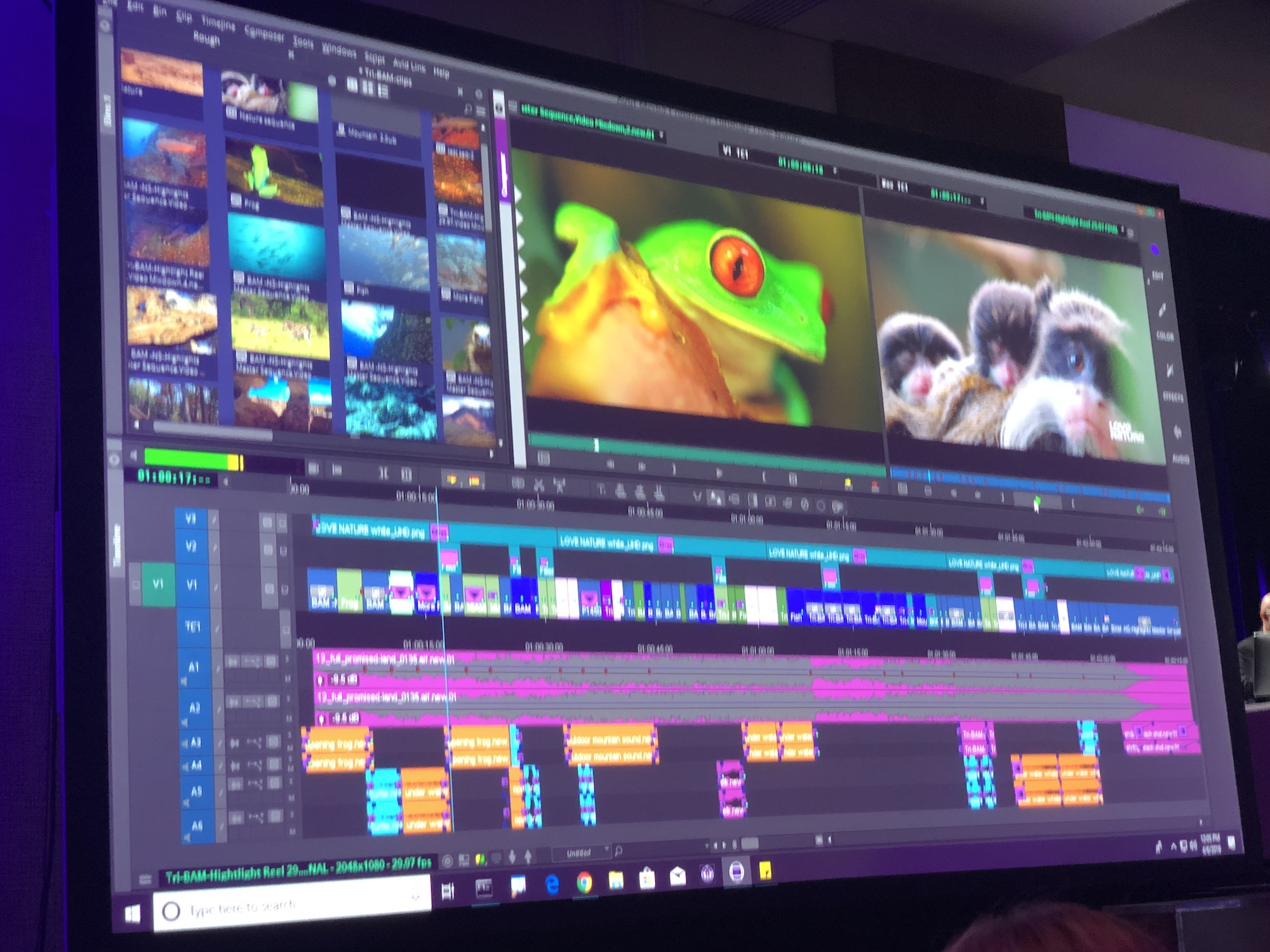 Avid Connect Press Conference and the Avid Product Reveal 7