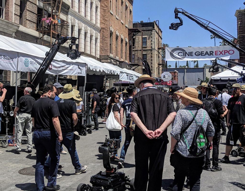 Live from Cine Gear 2018 1