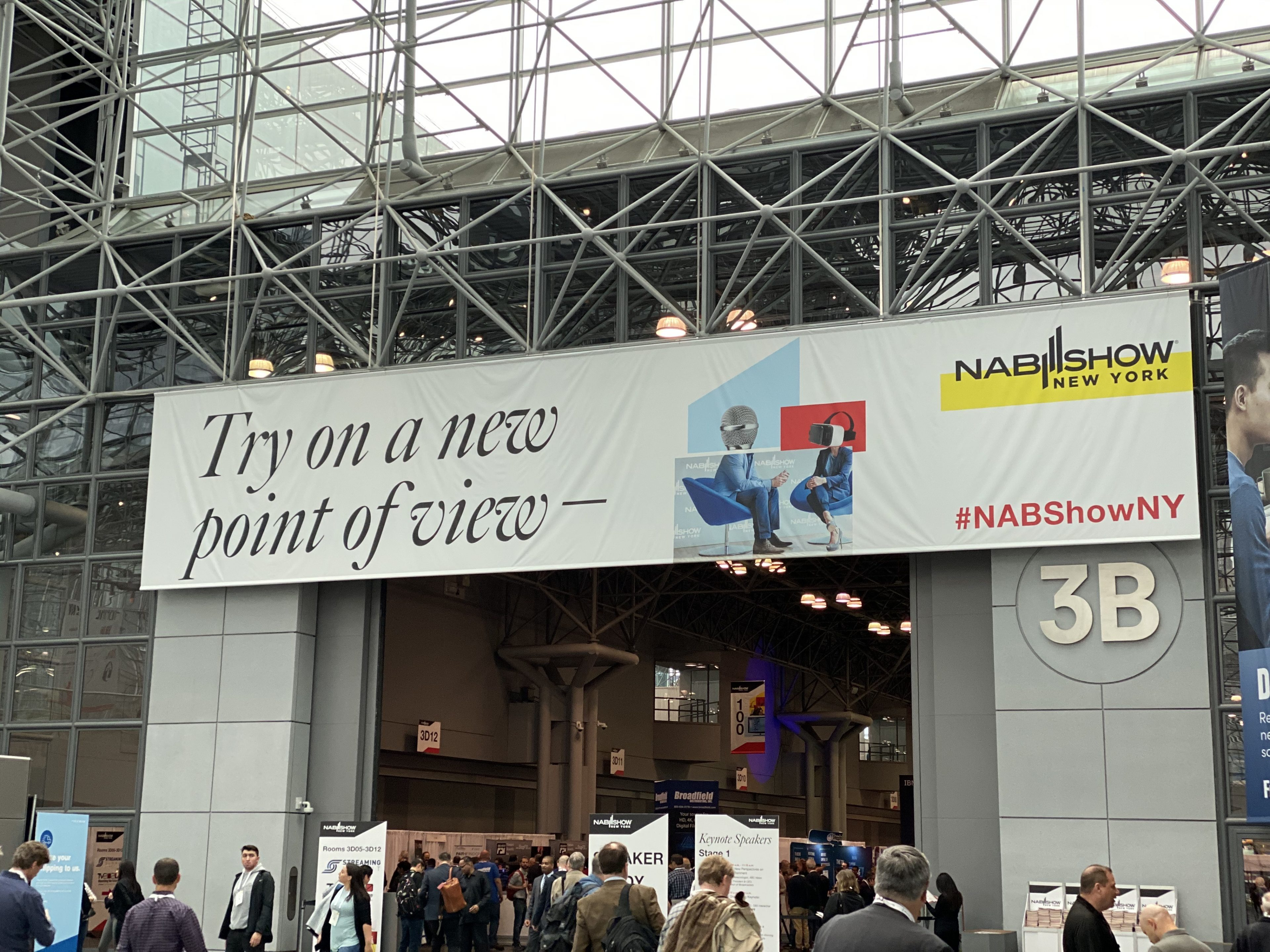 My first time at NAB Show New York 12