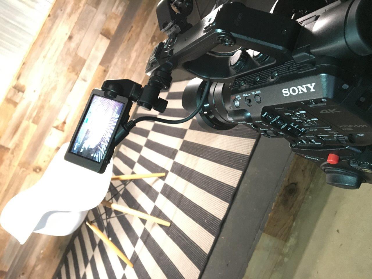 FS7 preparing for a shoot