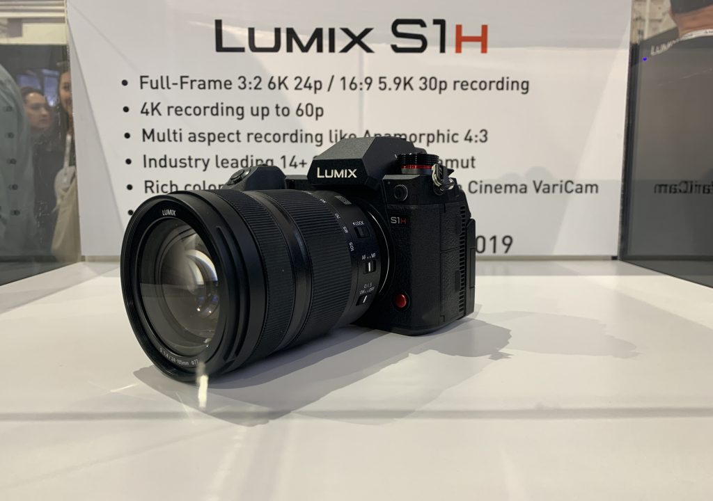 Cine Gear The Panasonic 6k Full Frame Lumix S1h