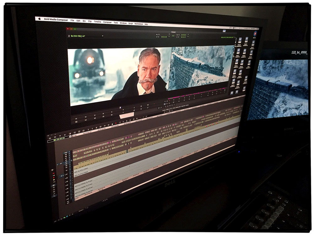 ART OF THE CUT on MURDER ON THE ORIENT EXPRESS 4
