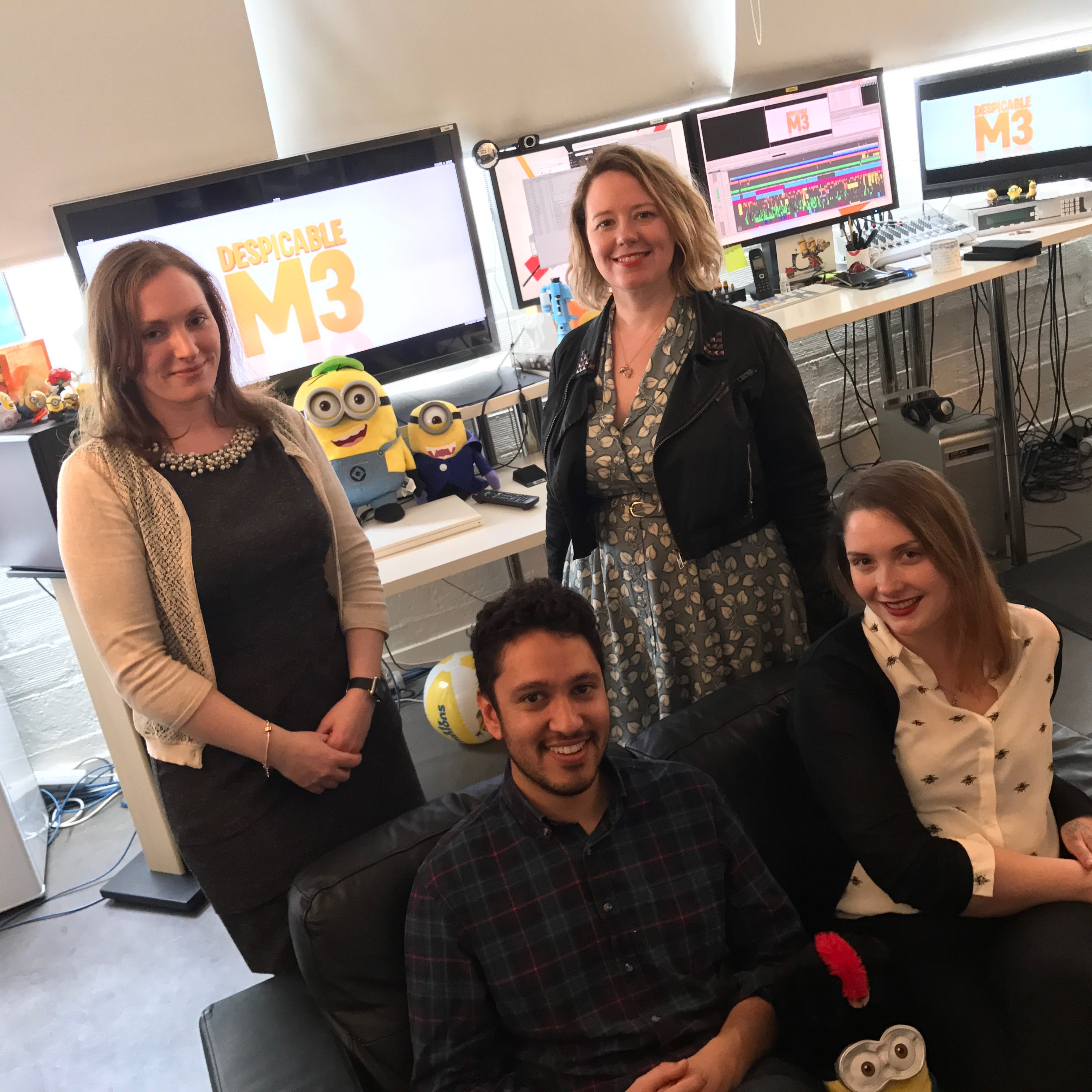ART OF THE CUT with Despicable Me 3 editor, Claire Dodgson 28