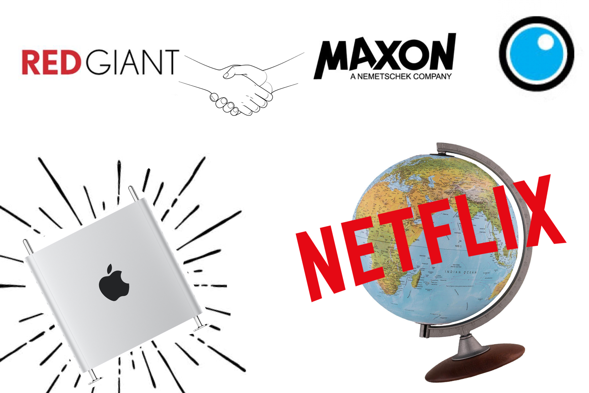PVC Podcast Mac Pro, Red Giant merges with Maxon, Netflix international expansion