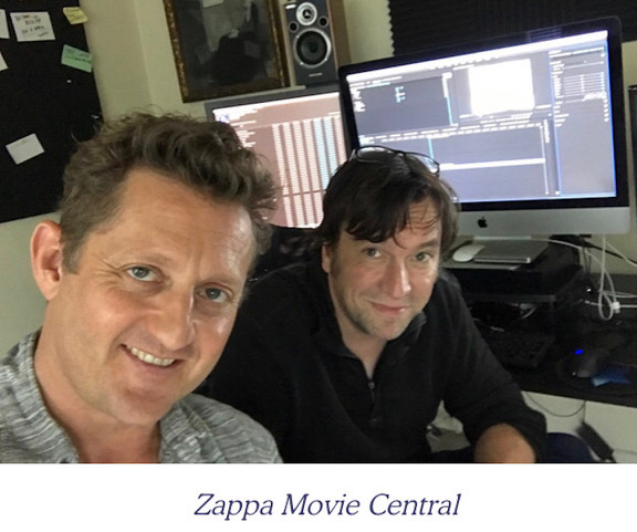 """ART OF THE CUT with Mike J. Nichols, editor of the documentary """"Zappa"""" 4"""