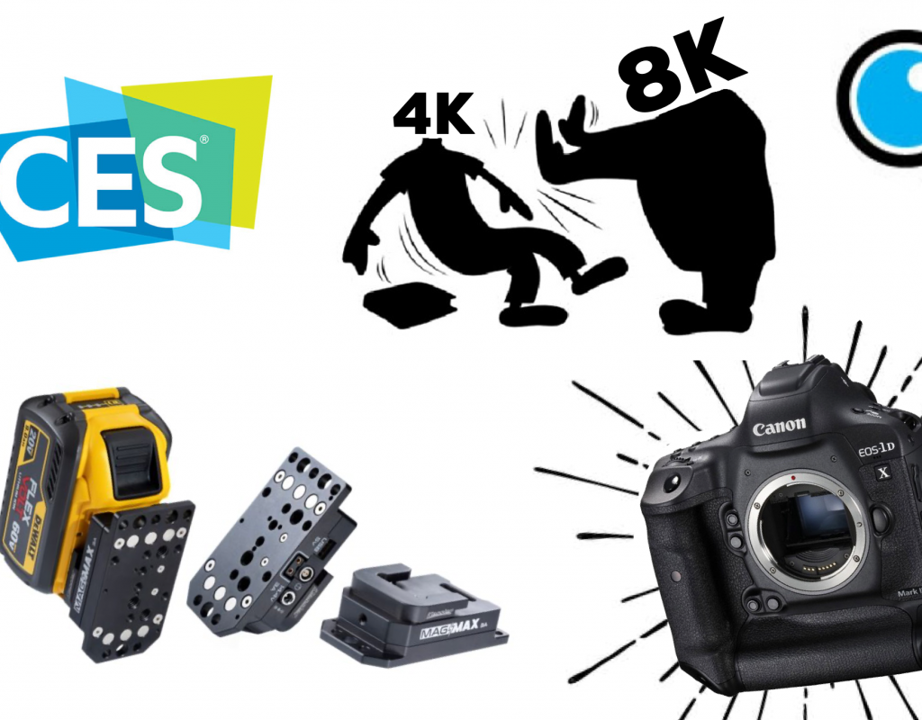 CES Wrap-Up, 8K hitting the market, Canon 1D x Mark III and more on this weeks episode of the PVC podcast