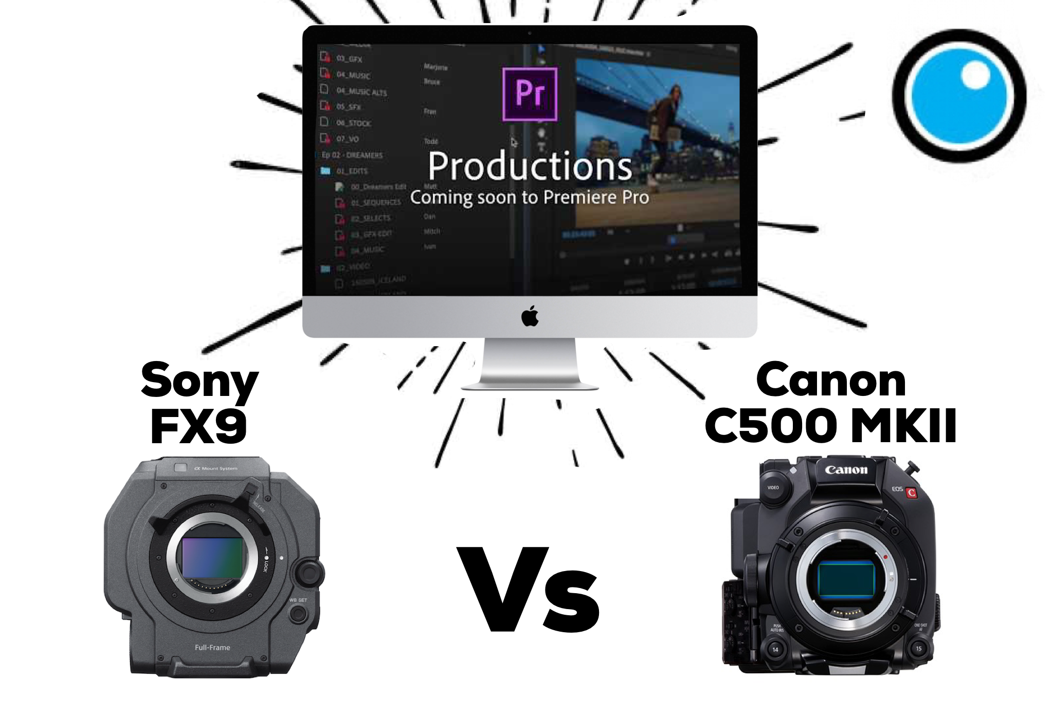 "PVC Podcast Eps 11: Adobe's NEW Premiere Pro ""Productions"" Group Edit Feature, Sony FX9 and Canon C500 Mark II Reviews! by Filmtools - ProVideo Coalition"