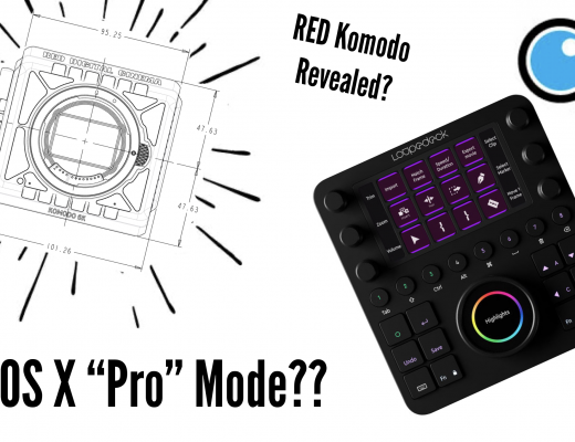 """PVC Podcast Eps 12: RED Komodo Revealed, Loupedeck Review, Possible """"Pro"""" Mode In OS X & More!"""