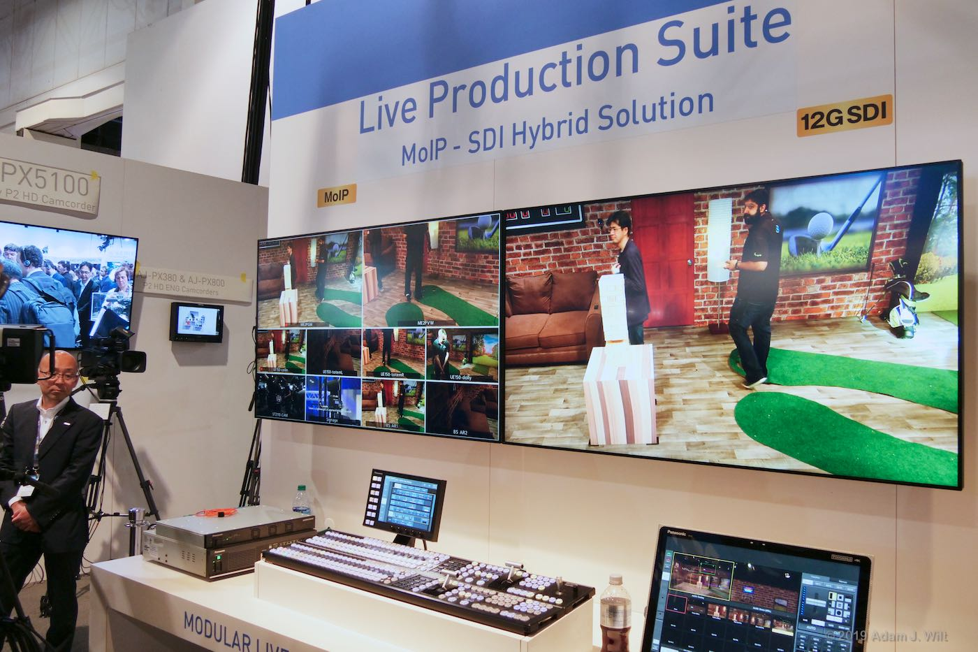 Panasonic's Live Production Suite demo