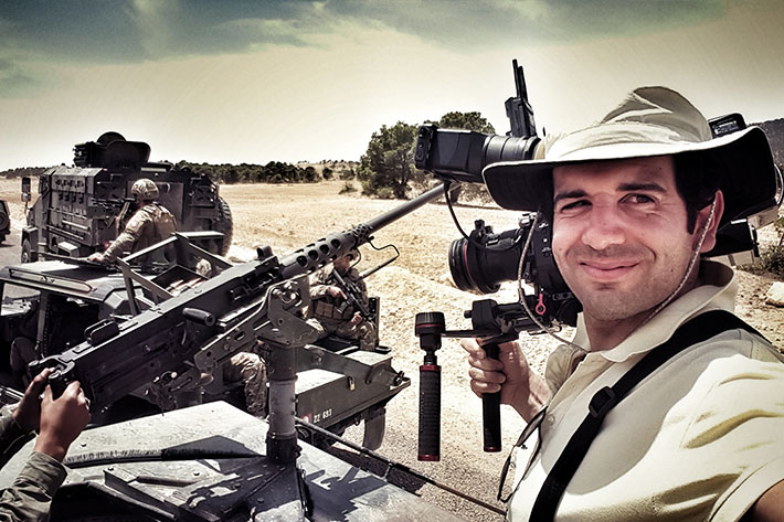"Digital video and the ""Arab Spring"" changed filmmaker's Ikbal Arafa life"
