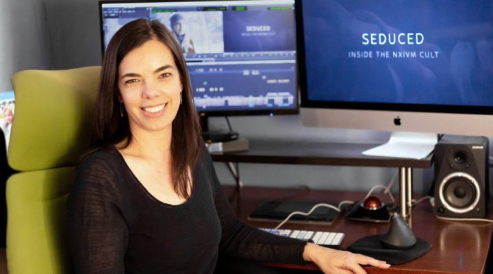 """ART OF THE CUT with editor Inbal B. Lessner, ACE on the Starz doc series, """"Seduced: Inside the NXIVM Cult"""" 1"""