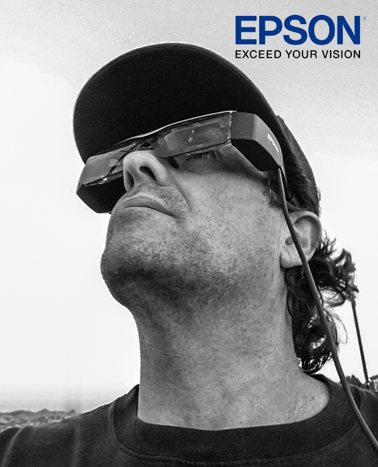 Epson Moverio BT-200 Smart Glasses with the DJI Phantom 2 Vision+ 14