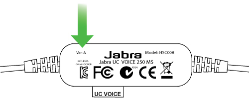 Review: Jabra UC Voice 250 discreet USB headset for broadcasting with microphone & earset 3
