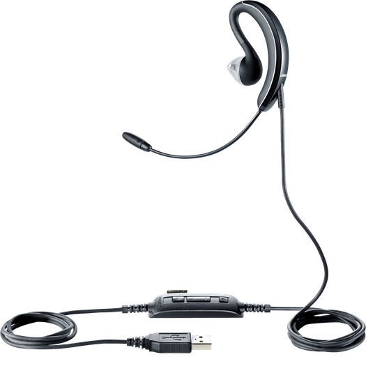 Review: Jabra UC Voice 250 discreet USB headset for broadcasting with microphone & earset 4
