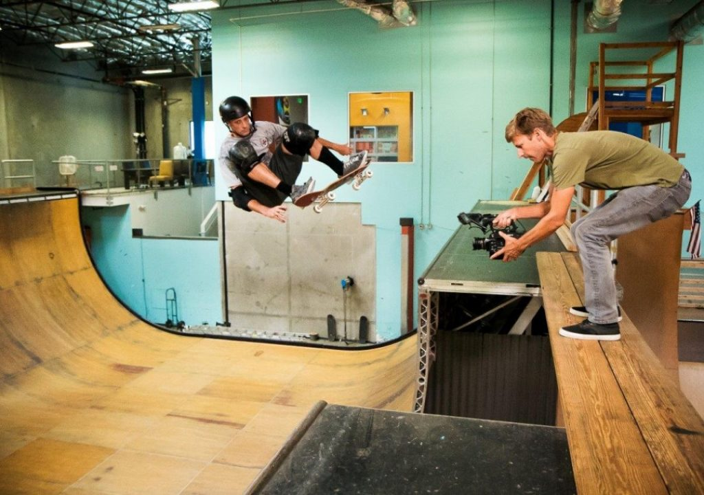 Skateboarding, freestyling and loving the FS7 2