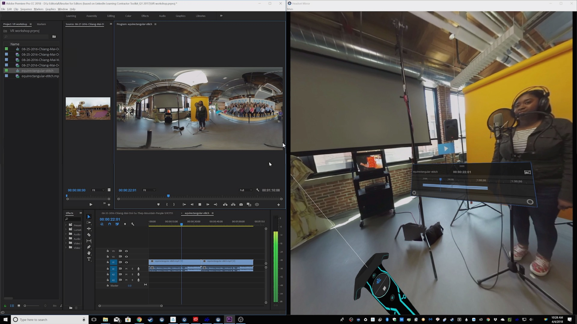 Premiere Pro - 360 Video Tools