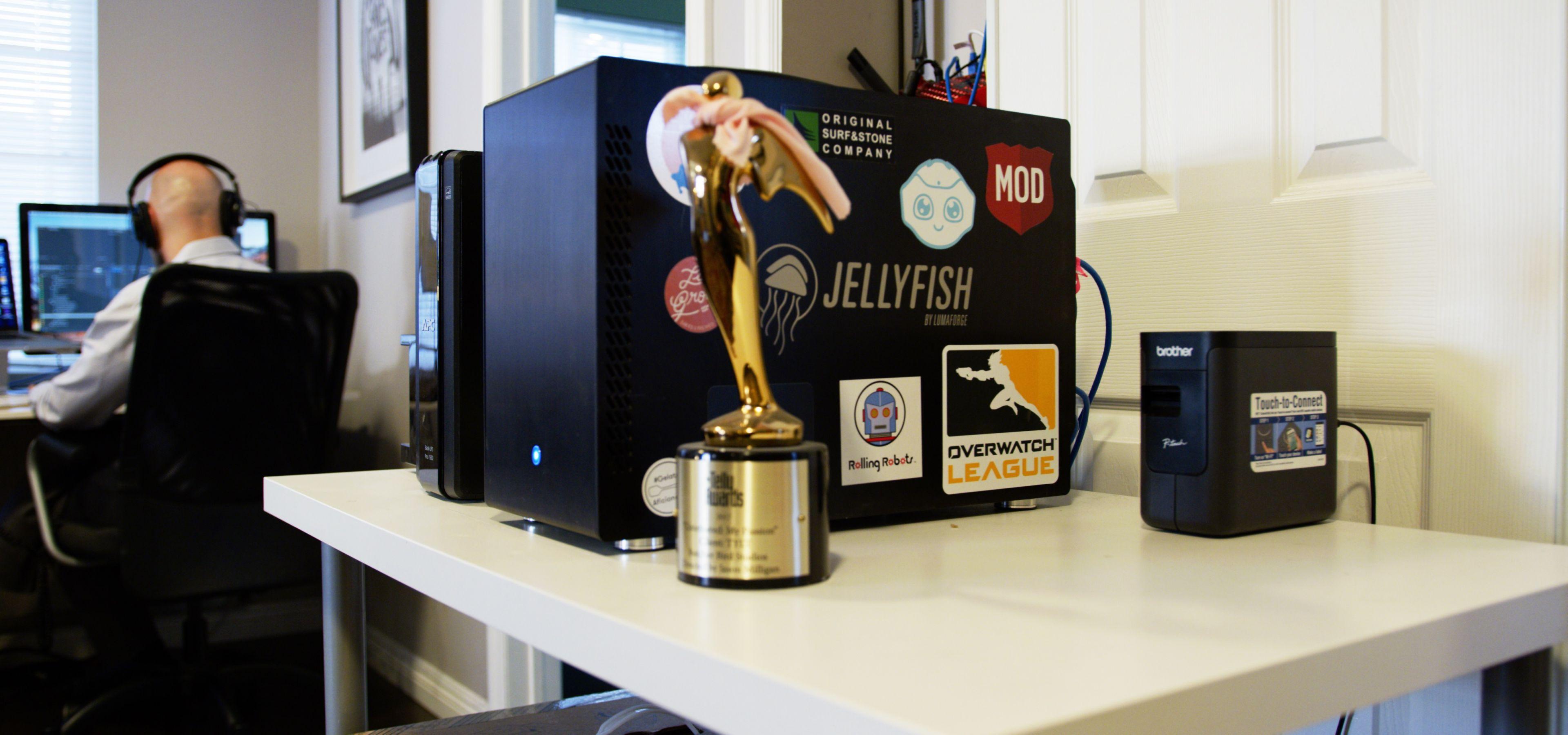 Jellyfish Mobile at Butcherbird Studios HQ