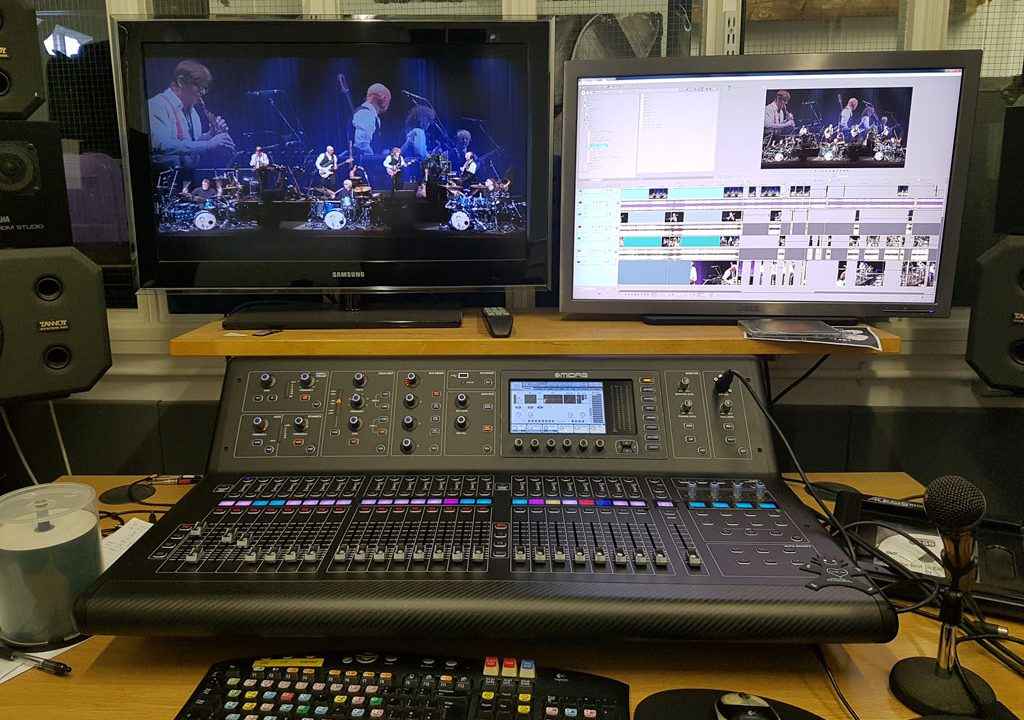 editing the King Crimson Radical Action concert video in Sony Vegas