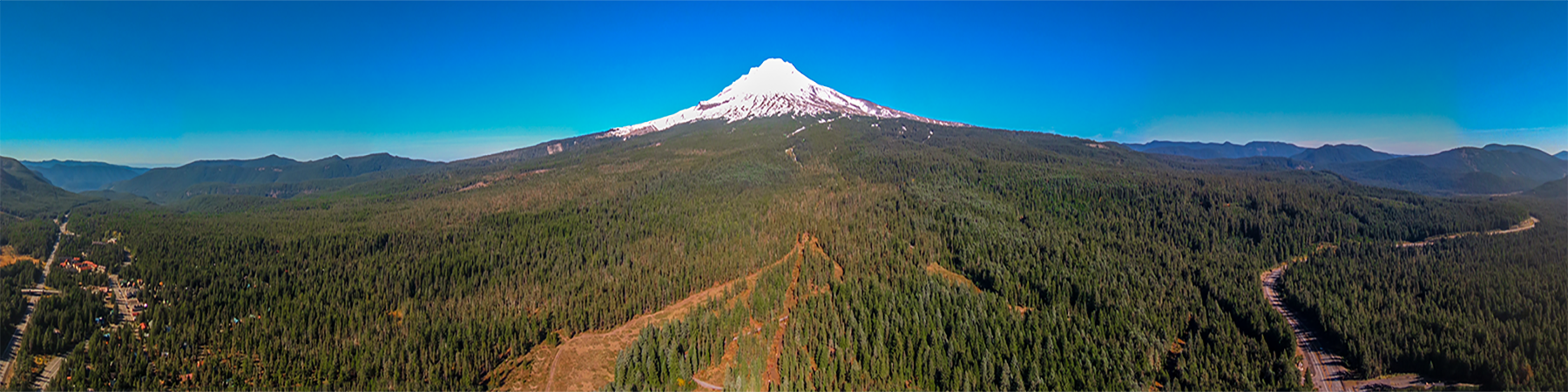 Karma Drone HERO6 Aerial Panorama Stitched From Video Frames