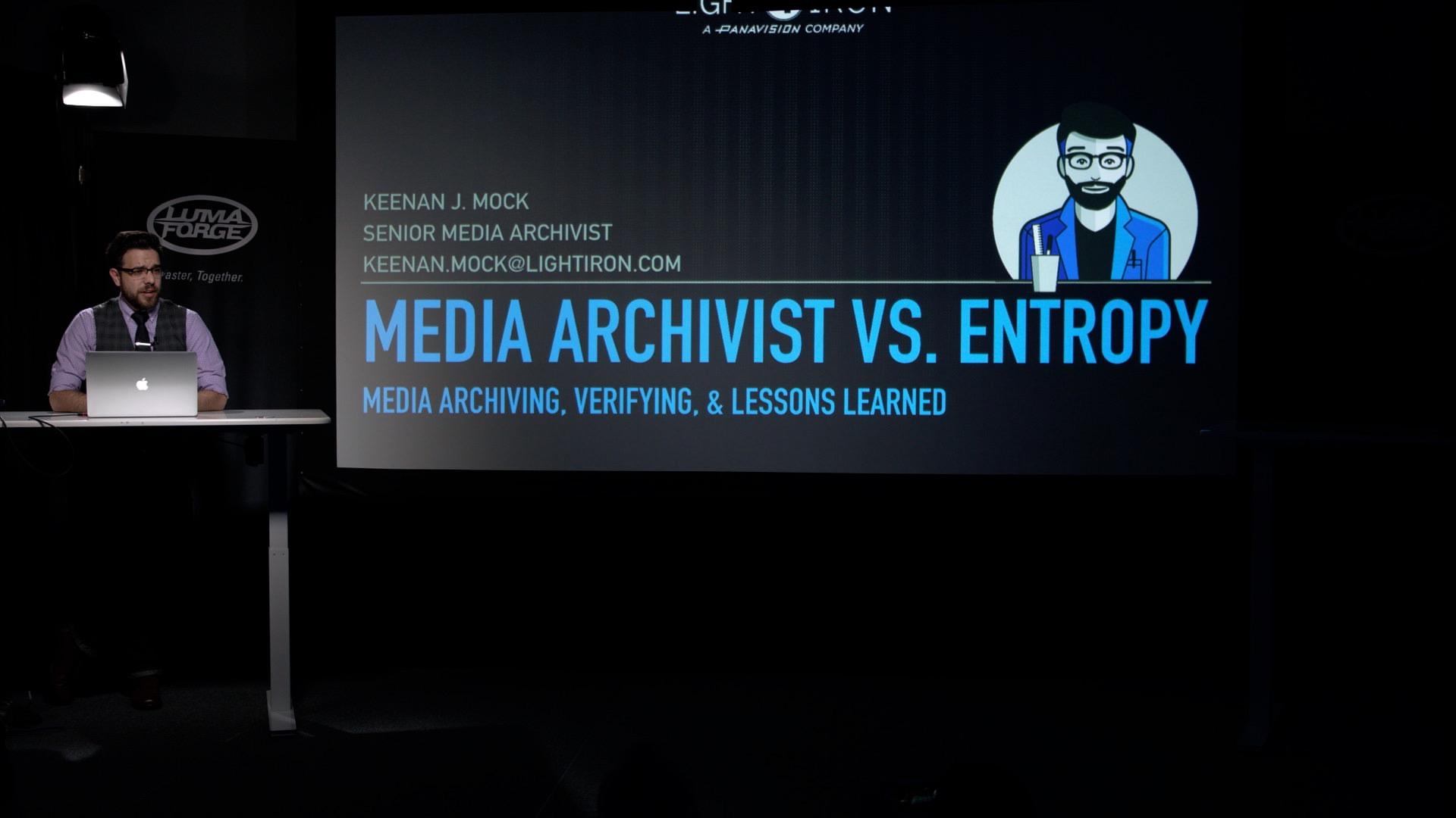 Keenan J. Mock - Media Archiving