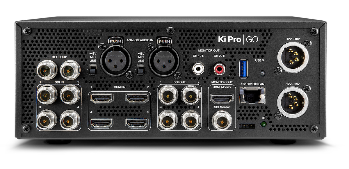 AJA at NAB 2019 introduces new and updated products including the H.264 Ki Pro GO 20