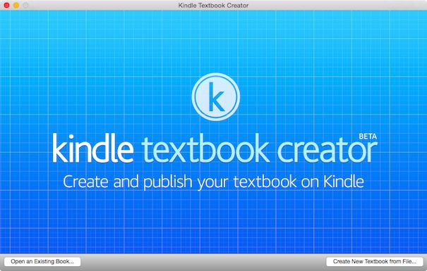 Kindle Textbook Creator Mac English 605