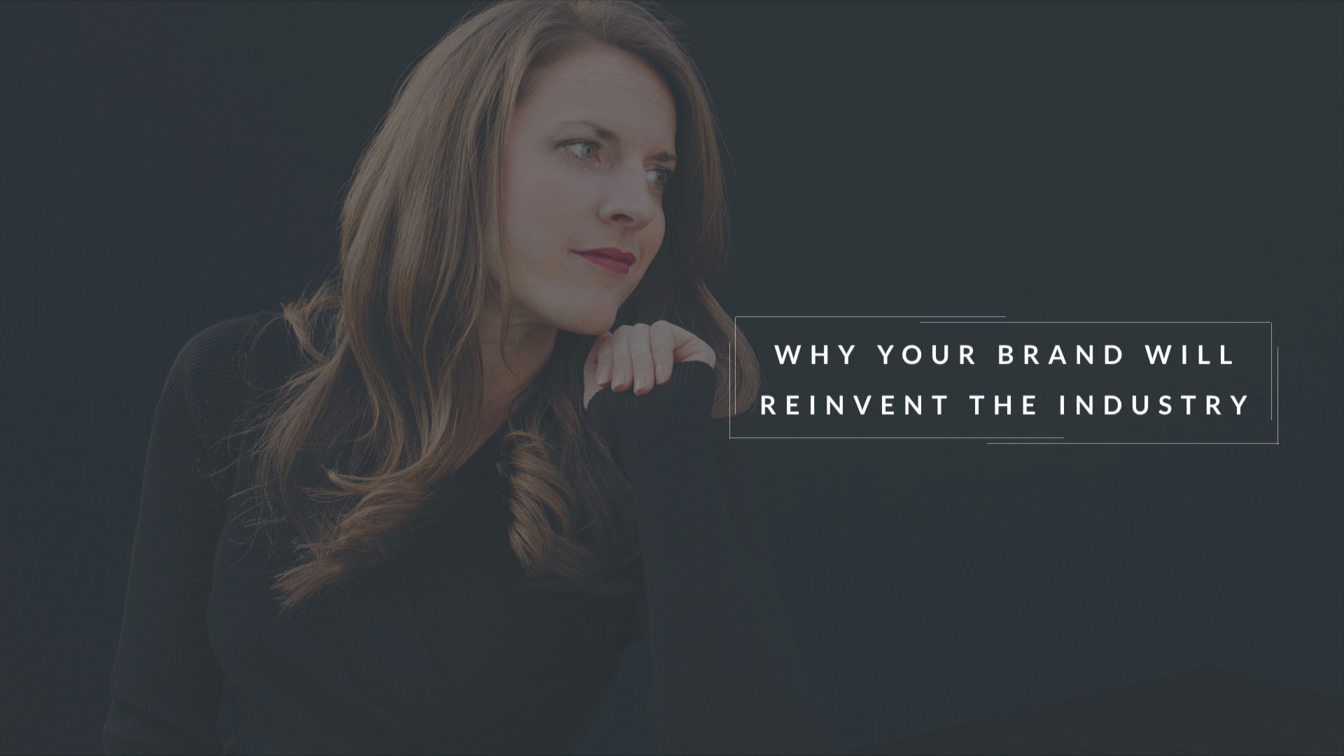 Krysta Masciale - Why You Brand Will Reinvent the Industry