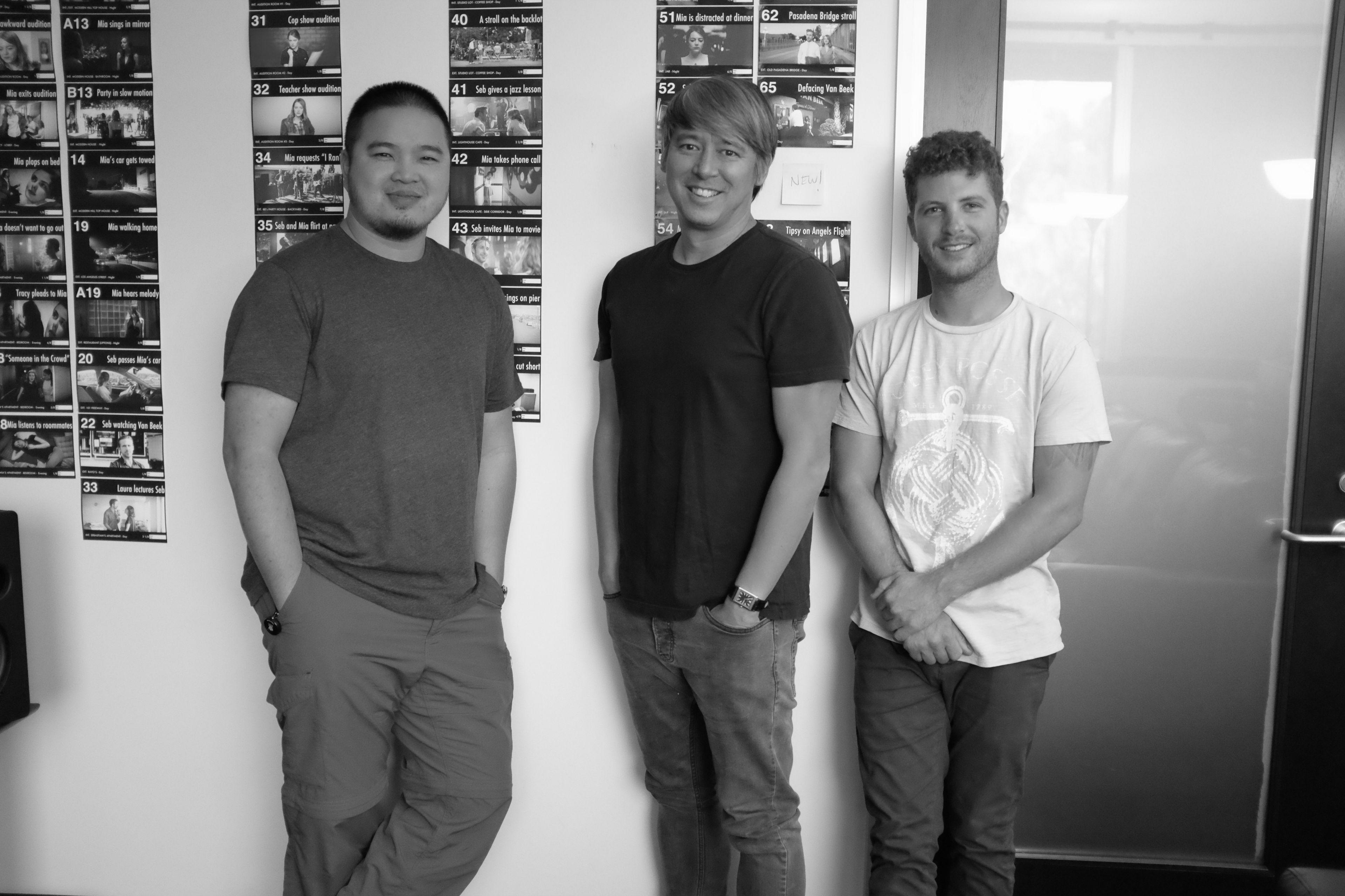 John To (1st Assistant Editor), Tom Cross (Editor), Josh Stein (Post PA).