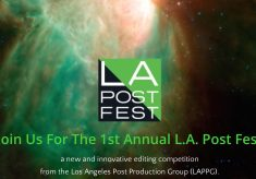 The First Annual LA Post Fest is May 14, 2016