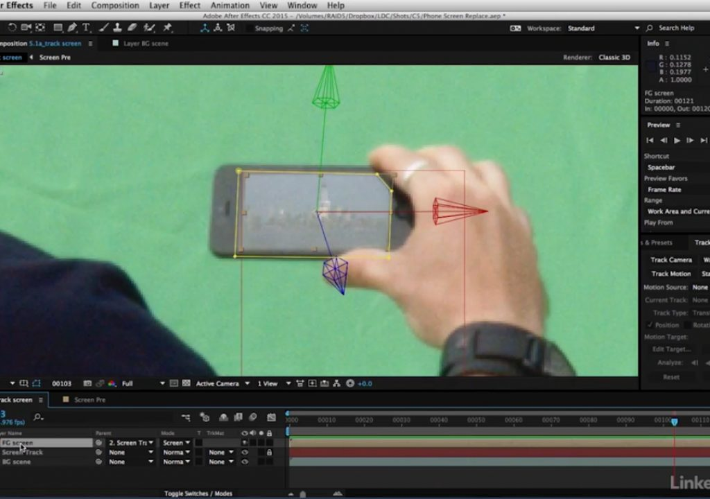 Free After Effects video tutorial: Effectively track motion 1