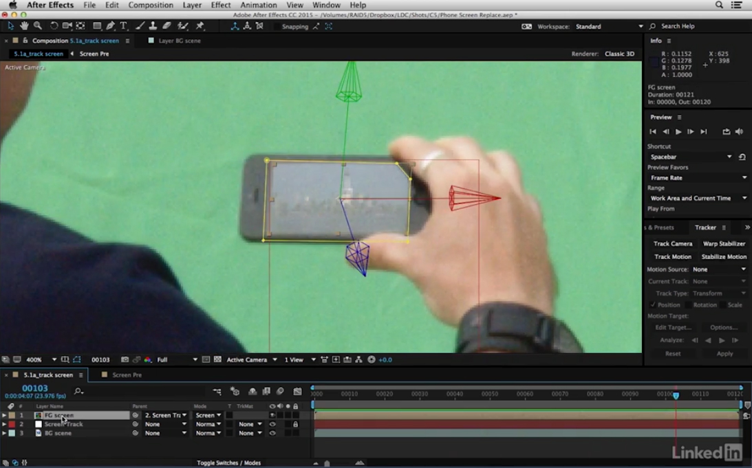 Free After Effects video tutorial: Effectively track motion 3