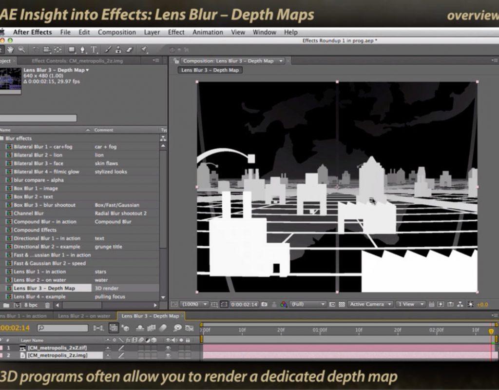 Classic Course: Lens Blur 1