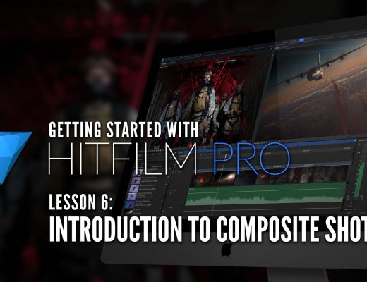 HitFilm Pro Lesson 6 - Introduction to Composite Shots