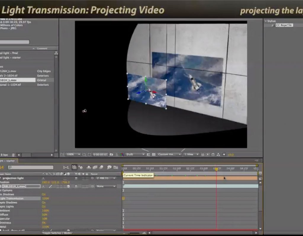 After Effects Classic Course: Light Transmission 1