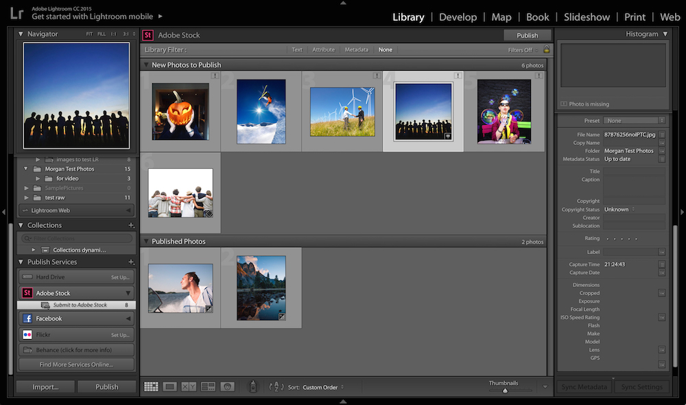 A Lightroom plug-in will make contributing to Adobe Stock easy.
