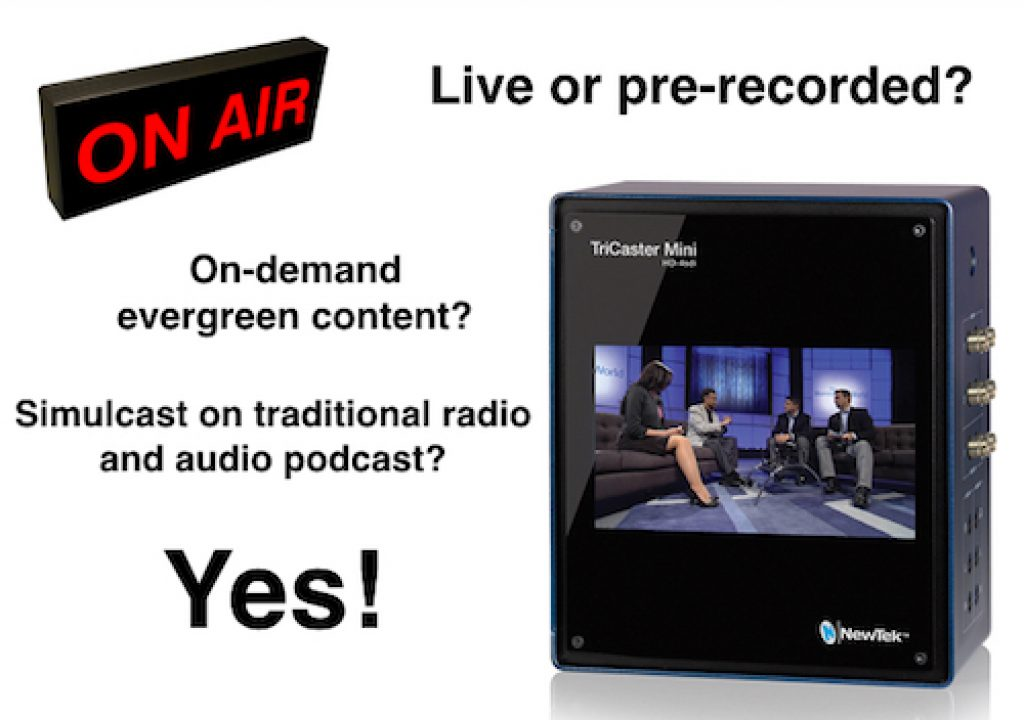 Live TV versus prerecorded: how to take best advantage of each 1