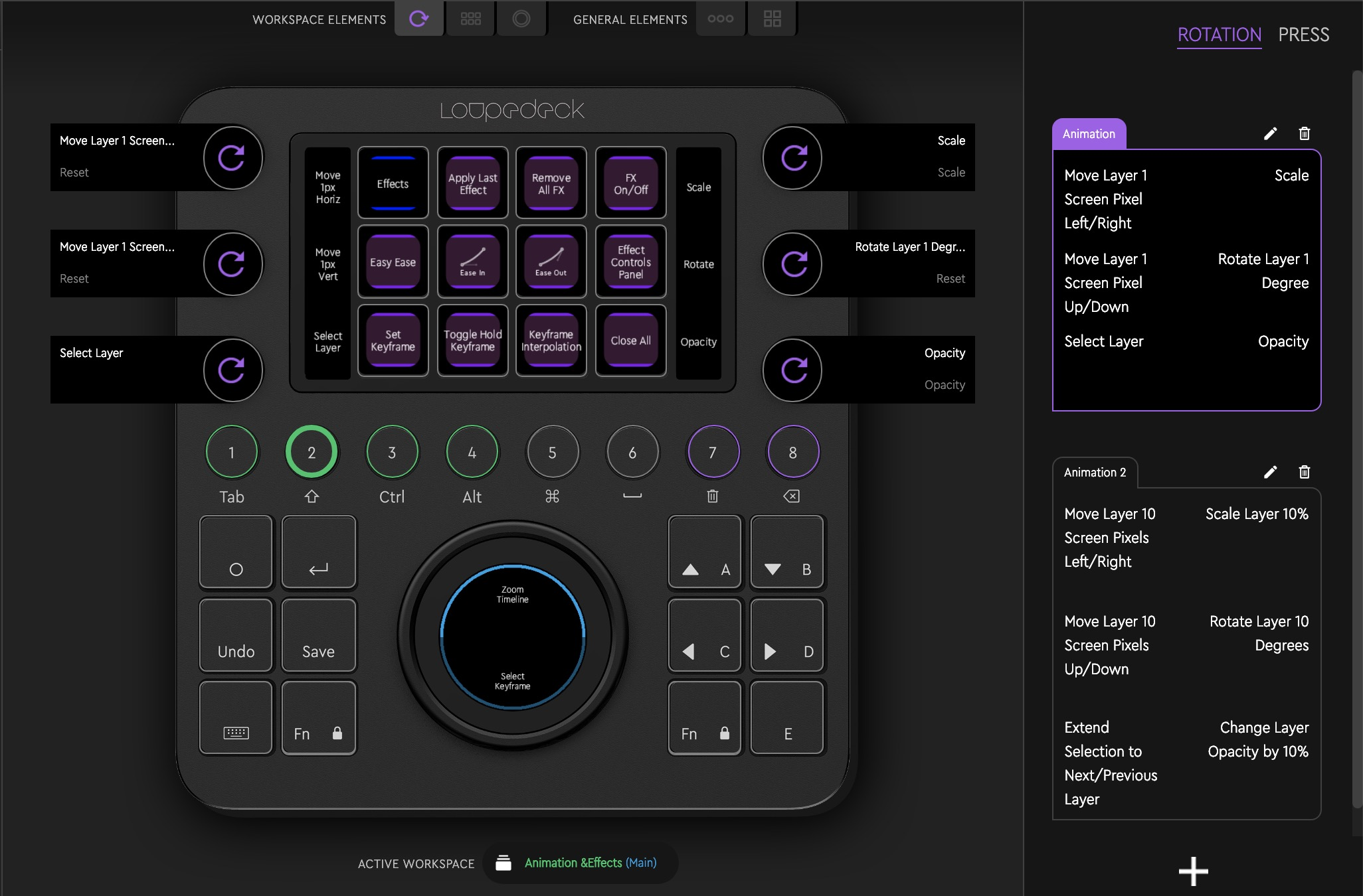 Loupedeck After Effects