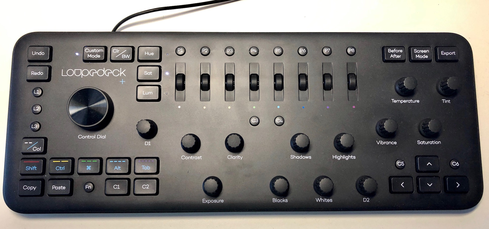 Review: The Loupedeck+ control surface and its Adobe Premiere Pro integration 12