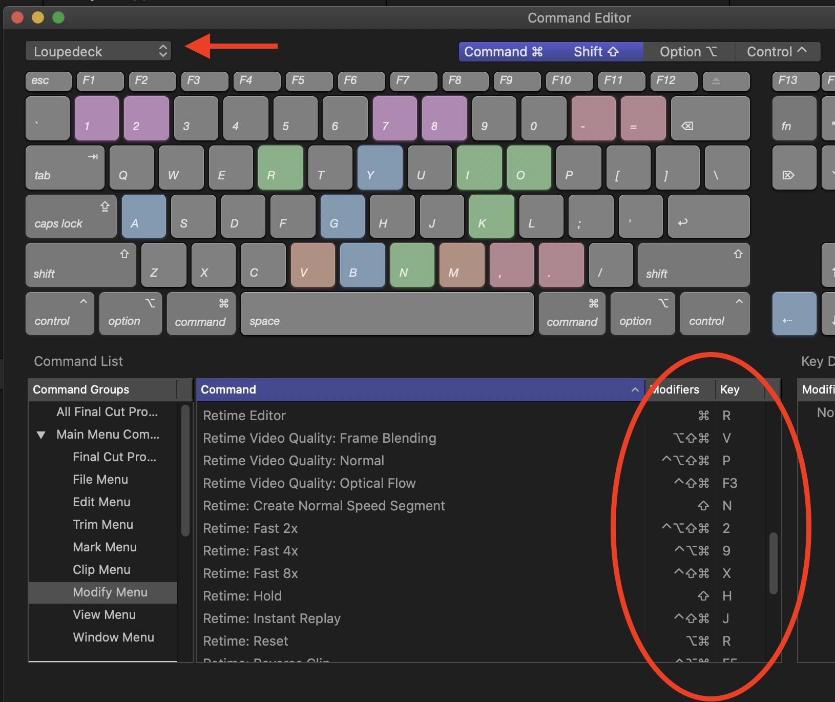 loupedeck-retime-keyboard