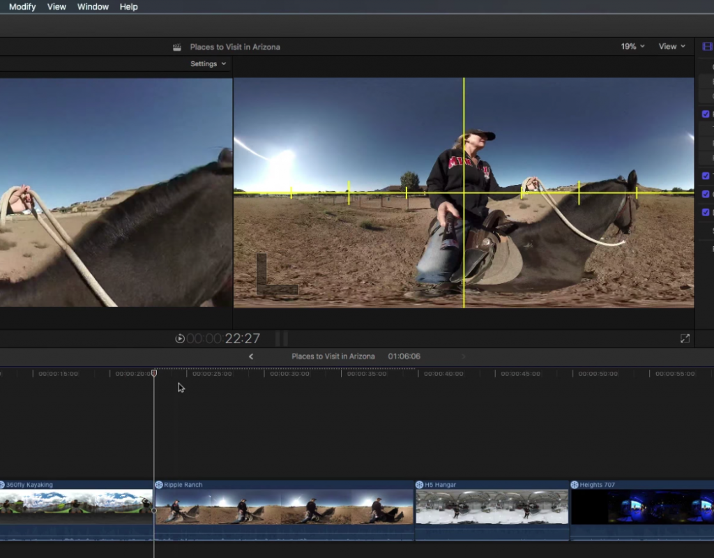 Editor as Director in 360 Video with Final Cut Pro X 1