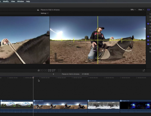 Editor as Director in 360 Video with Final Cut Pro X 10